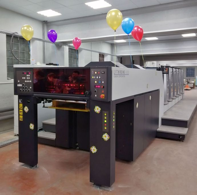 Komori Lithrone G529