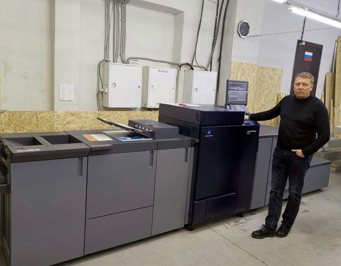 ЦПМ Konica Minolta AccurioPress C6100 установлена в типографии «Полицвет»