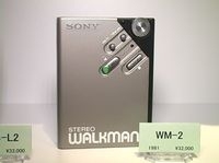 Sony WM-2 Walkman