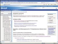 Рисунок 1. Microsoft Technet указывает на безопасность как на главную цель Server 2008.