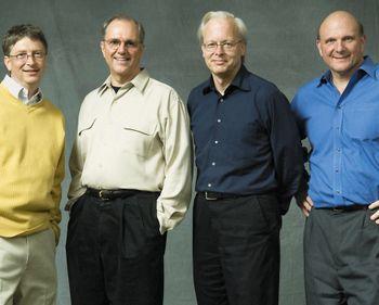 Билл Гейтс ипродолжатели его дела— Крейг Манди, Рей Оззи иСтив Балмер