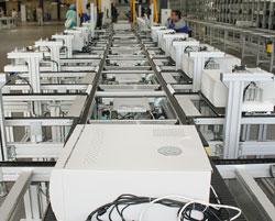 Сборочный конвейер завода Kraftway соответствует передовым международным стандартам