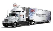 Рисунок 2. APC InfraStruXure Express Medium Density On-demand Mobile Data Center — один из первых вариантов «мобильных ЦОД». Он содержит 12 стоек с оборудованием ИТ (500U) и обеспечивает высокий уровень готовности.