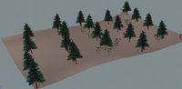 Рис. 6. Лес, созданный методом распределения