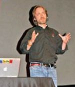 Ведущий евангелист креативных решений в Adobe Руфус Дойчлер начал с самых вкусных новинок Creative Suite 4