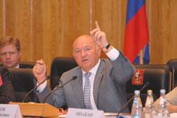 Юрий Лужков доволен системой, представленной Константином Ромодановским