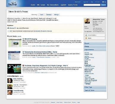 Получив данные, сервис Twine сортирует их по различным категориям, таким как персоналии, обсуждаемые темы, использованные имена компаний. Упорядочивание способствует более эффективному поиску вбудущем