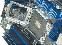 Так выглядит новое процессорное гнездо. Пересчитаем контакты?