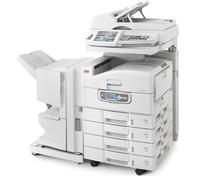 Многофункциональное устройство С9850MFP способно работать с системами документооборота