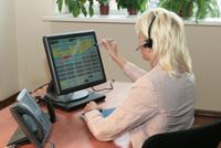 Главным элементом системы IP Forum является пульт оператора, выполненный в виде сенсорного экрана размером 17 дюймов.