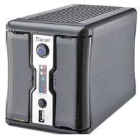 Рисунок 5. Новинка Thecus — двухдисковое хранилище N2200 для SOHO/SMB. Система поддерживает диски SATA 3,5