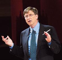 БилЛ Гейтс: «Лет через десять школам будет выгодно закупать планшетные компьютеры, а не учебники»