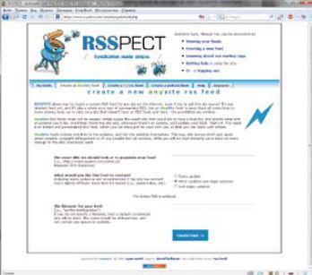 Спомощью бесплатного аккаунта удается создать лишь четыре ленты. Предлагаемые же платные Premium-аккаунты не имеют данного ограничения, отличаются расширенным выбором настроек RSS-лент иобновляются каждые полчаса. Ксожалению, входе тестирования RSSpect не сумел обработать тестовую страницу форума, зато корректно справился сновостным сайтом