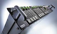 Рисунок 6. Сервер Fujitsu RX300 S5 имеет семь слотов PCIe Gen2 и интегрированный контроллер удаленного управления iRMC S2. Он оснащается двумя портами Gigabit Ethernet и допускает установку сетевых адаптеров 10GbE.