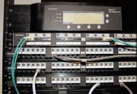 Рисунок 1. Интеллектуальная коммутационная панель и менеджер стойки системы iPatch разработки компании Systimax Solutions.