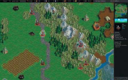 Battle for Wesnoth — много в ней лесов полей и рек