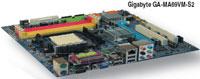 Gigabyte GA - MA69VM - S2