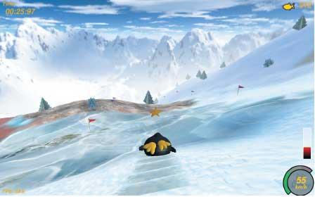 Planet Penguin Racer — с южных гоp до севеpных моpей