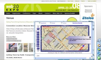 Если в процессе просмотра Web-страниц вам встретится адрес, который хотелось бы увидеть на карте, выделите его и щелкните мышью на пиктограмме MapQuest