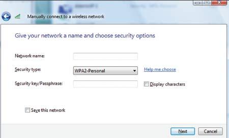 Экран 2. Защищенный протокол WPA2-Personal
