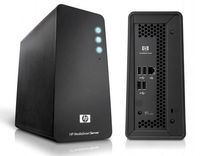 В Hewlett-Packard приняли решение использовать Atom для своего нового сервера MediaSmart LX195, предназначенного для домашних досуговых приложений