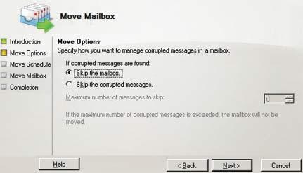 Экран 3. Игнорирование поврежденного сообщения впочтовом ящике