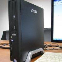 Настольный мини-компьютер Wind создан из компонентов, предназначенных для мини-ноутбуков