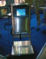 Стенд Domino. Система автоматической промывки в печатающей головке позволяет запустить Domino A200+ в работу после длительного перерыва