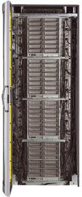Сервер SGI Altix ICE 8200 позволяет собрать водной стойке до 128 четырехъядерных процессоров