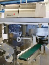 Модуль Linoprint, интегрированный в машину изготовления блистерной упаковки