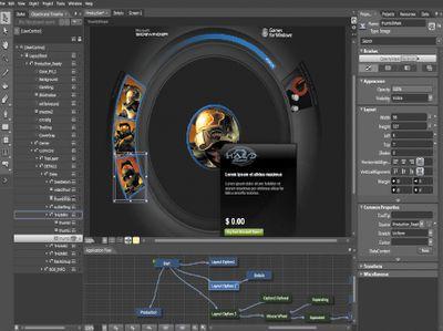 С использованием Silverlight разработчики могут написать компоненты для Expression Web 3, которые в дальнейшем могут использовать дизайнеры для формирования более привлекательных и удобных Web-интерфейсов