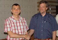 """Олег Кукушкин (слева): """"Нас очень увлекла идея Sparxent Group: мы получаем международную экспертизу взамен на поддержку клиентов Sparxent в России"""""""