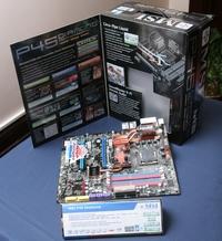 Для любителей экстремального разгона плата P45 Diamond укомплектована системой жидкостного охлаждения чипсета