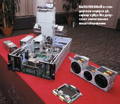 Выполненный встандартном корпусе 4U, сервер x3850 M2 допускает значительное масштабирование