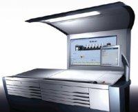 Speedmaster Prinect Press Center демонстрирует спуски своих заказов в натуральную величину.