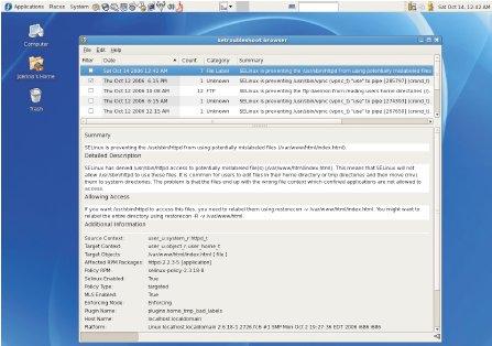 ВАгентстве национальной безопасности США выступили синициативой SELinux в2000 году, ауже в2002 году Линус Торвальдс использовал его вядре своей операционной системы