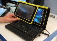 При запуске ряда популярных приложений, которые работают на процессорах архитектуры x86, экран Android автоматически сдвигается, открывая Windows XP