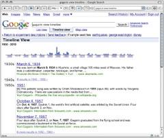 Для тех, кто интересуется последними экспериментами Google, компания предложила сервис, получивший название Google Experimental, доступ ккоторому можно получить на сайте Google Labs