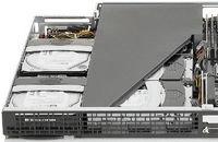 Новые серверы имеют бескорпусную архитектуру, что предполагает отсутствие большинства элементов внешнего металлического корпуса