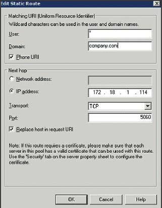 Экран 3. Задание статического маршрута для сервера CUPS