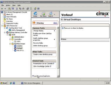 Рисунок 2. VMware предлагает централизованный интерфейс для различных клиентов в инфраструктуре VMware View.