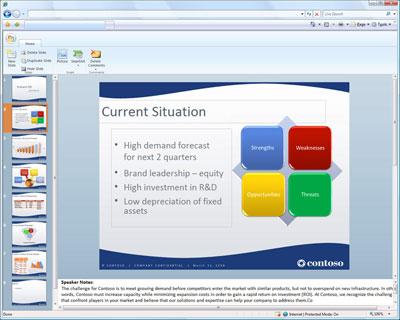 Приложения Office Web будут совместимы с браузерами Internet Explorer, Firefox и Safari
