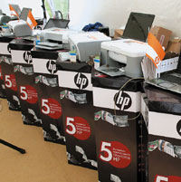 Многофункциональные устройства HP Photosmart C4583, C5383 иC6383 адресованы домашним пользователям ималому бизнесу
