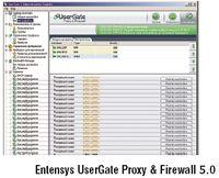 Entensys UserGate Proxy & Firewall 5.0