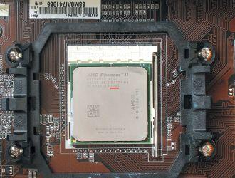 Протестированный ЦП AMD Phenom II 940