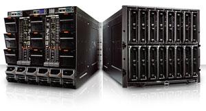 В шасси PowerEdge M1000E высотой 10U будут размещаться новые серверы-лезвия PowerEdge M600 на платформе Intel и PowerEdge M605 с процессорами AMD