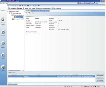 Рисунок 2. Широкий обзор: программное обеспечение Virtual Iron способно не только вести мониторинг, но и выполнять многочисленные задачи конфигурирования.