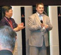 Mitsubishi впервые всвоей истории провела мероприятие для русскоговорящих посетителей—