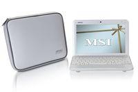 Первая модель в серии мини-ноутбуков Wind, получившая индекс U100, имеет 10-дюймовый ЖК-экран со светодиодной подсветкой