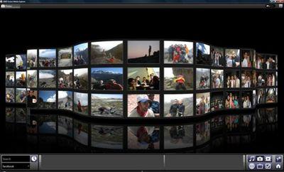 Fusion Media Explorer, дает пользователям возможность просматривать музыкальные и видеоальбомы